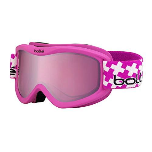 Bolle Unisex 21301 Volt Plus Black Frame, Vermillion Gun Lens Ski Snowboard Goggles by Bolle
