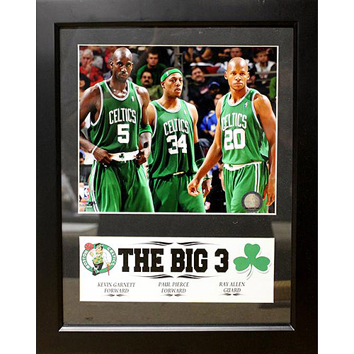 NBA Boston Celtics Deluxe Frame, 11x14
