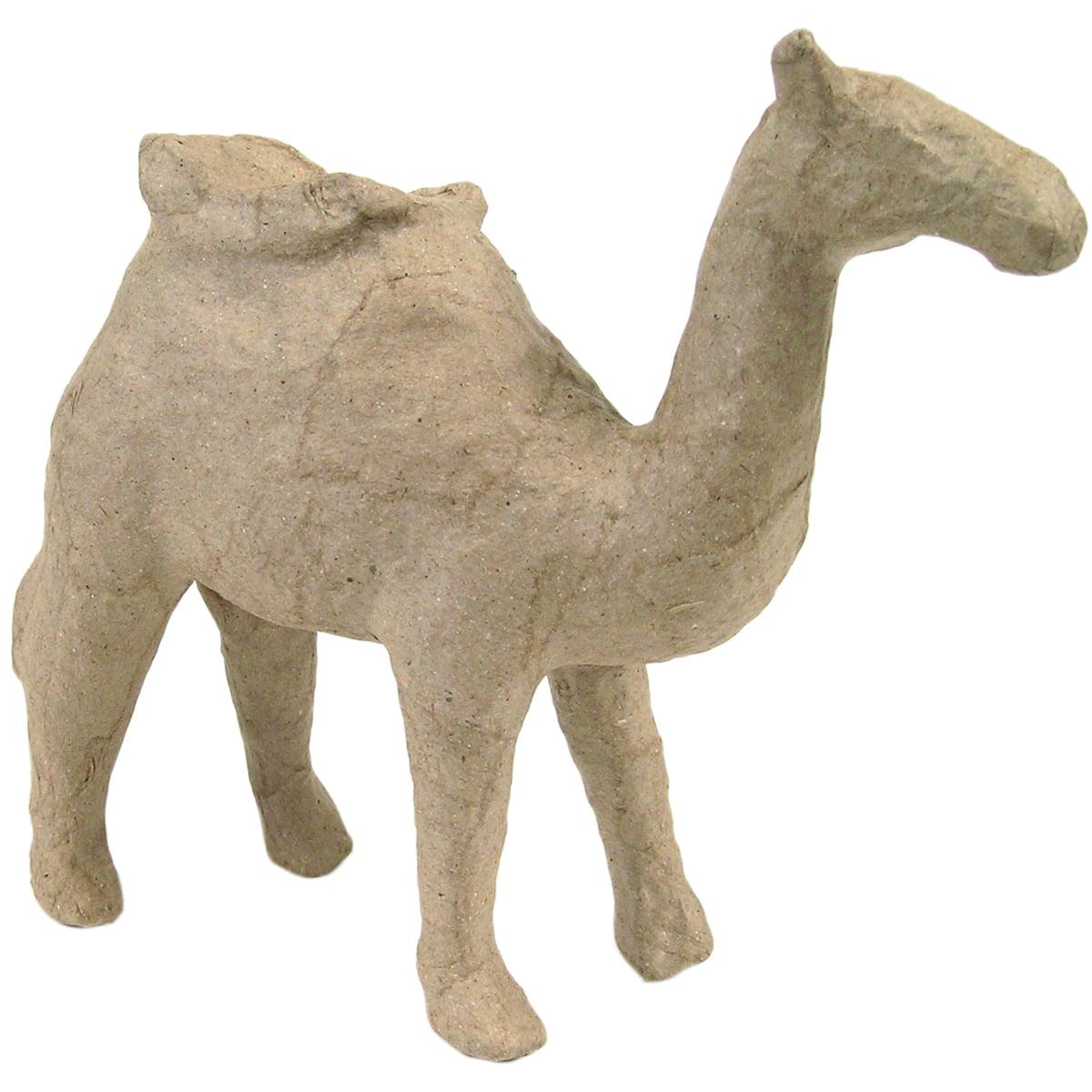 """Paper-Mache Figurine 4.5""""-Camel"""