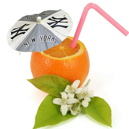 New York Yankees Paper Drink Party Umbrellas