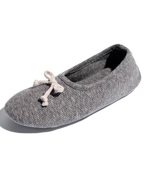 5397c46aa Product Image FLORATA Ladies House Slippers Classic Terry Ballerina Slipper  With Soft Bottom Cotton Warm Shoes For Pregnant