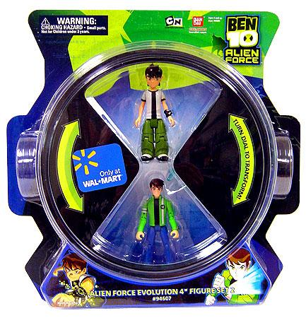 Ben 10 Alien Force Evolution Action Figure 4-Pack [Set 1] by