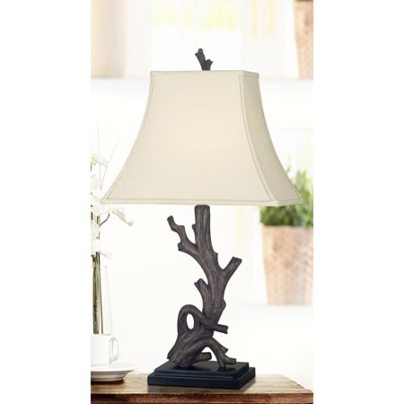 kenroy home drift table lamp wood grain. Black Bedroom Furniture Sets. Home Design Ideas