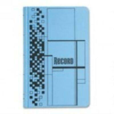 Adams Business Forms Record Ledger Book, Blue Cloth Cover, 500 7 1 2 x 12 Pages by