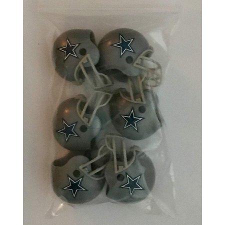 6 Pack Dallas Cowboys 2017 Helmet Mini Football 2