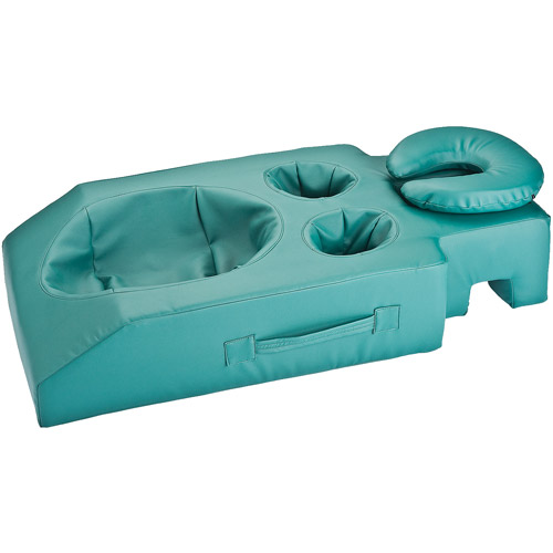 EarthLite Massage Tables Pregnancy Cushion, Teal