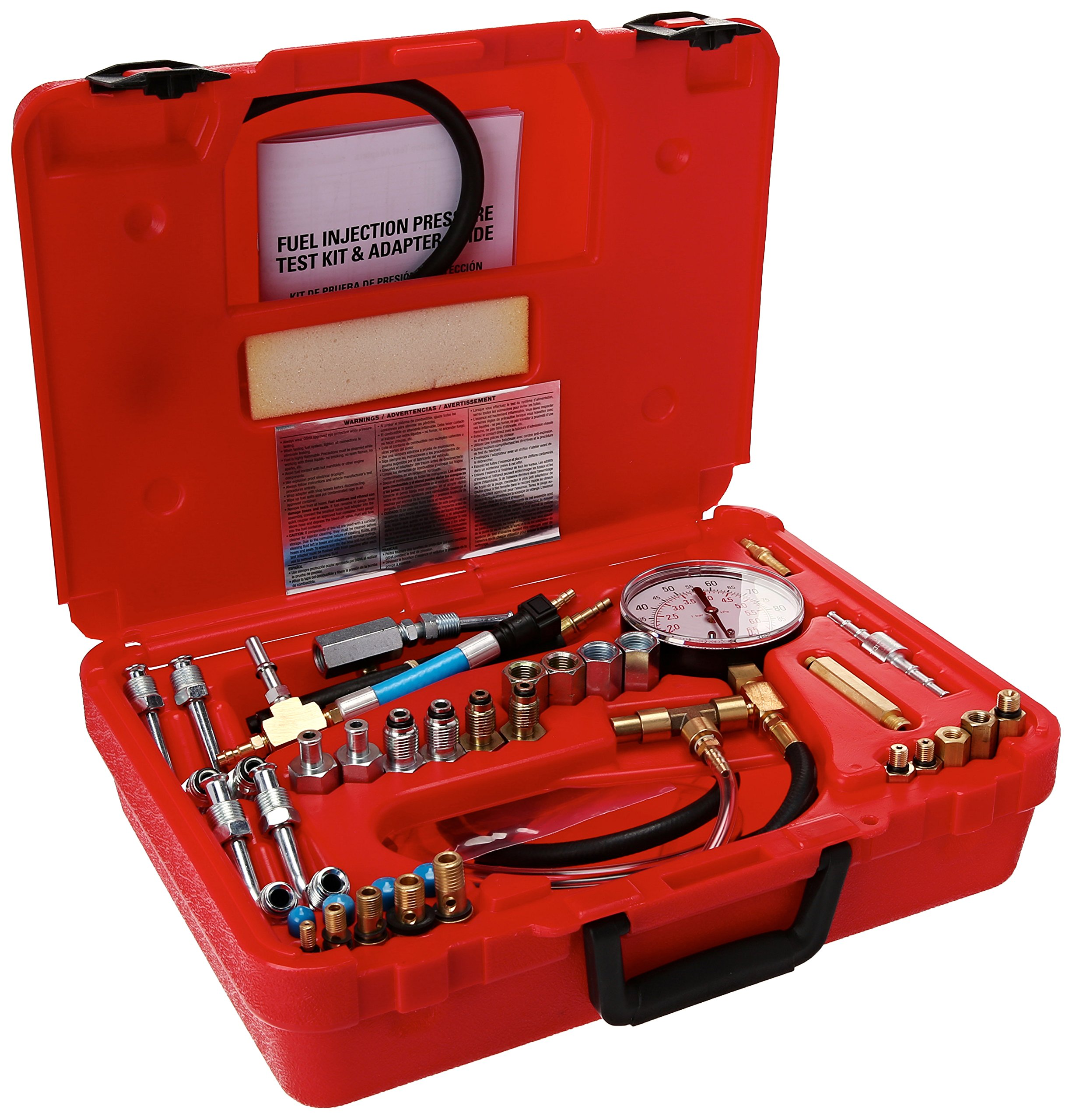 Rel Products, Inc. ATD-5549 Deluxe Fuel Injection Pressure Test Set