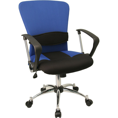 Flash Furniture Mesh Computer Task Chair with Arms, Multiple Colors
