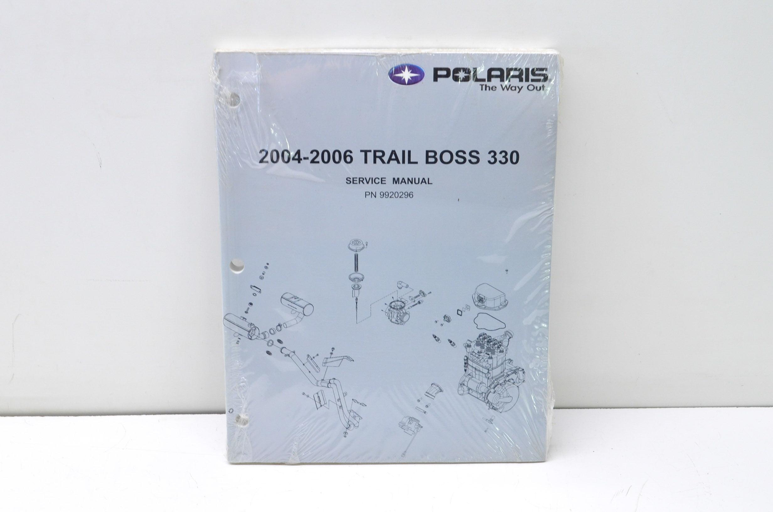 Polaris 9920296 2004-2006 Trail Boss 330 Service Manual QTY 1 - Walmart.com