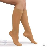 Womens Knee High Compression Stocking (15-20 mm Hg Compression)