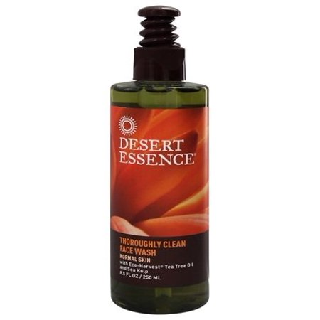 Thoroughly Clean Face Wash Tea Tree Oil & Sea Kelp - 8.5 fl. oz. by Desert Essence (pack of