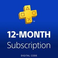 PlayStation Plus 12 Month Membership [Digital Download]