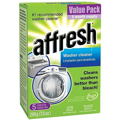 affresh Washer Cleaner, 5 count, 7 oz