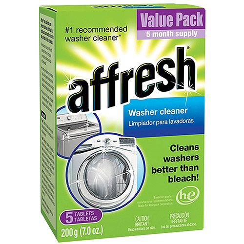 affresh Washer Cleaner, 5 count, 7 oz