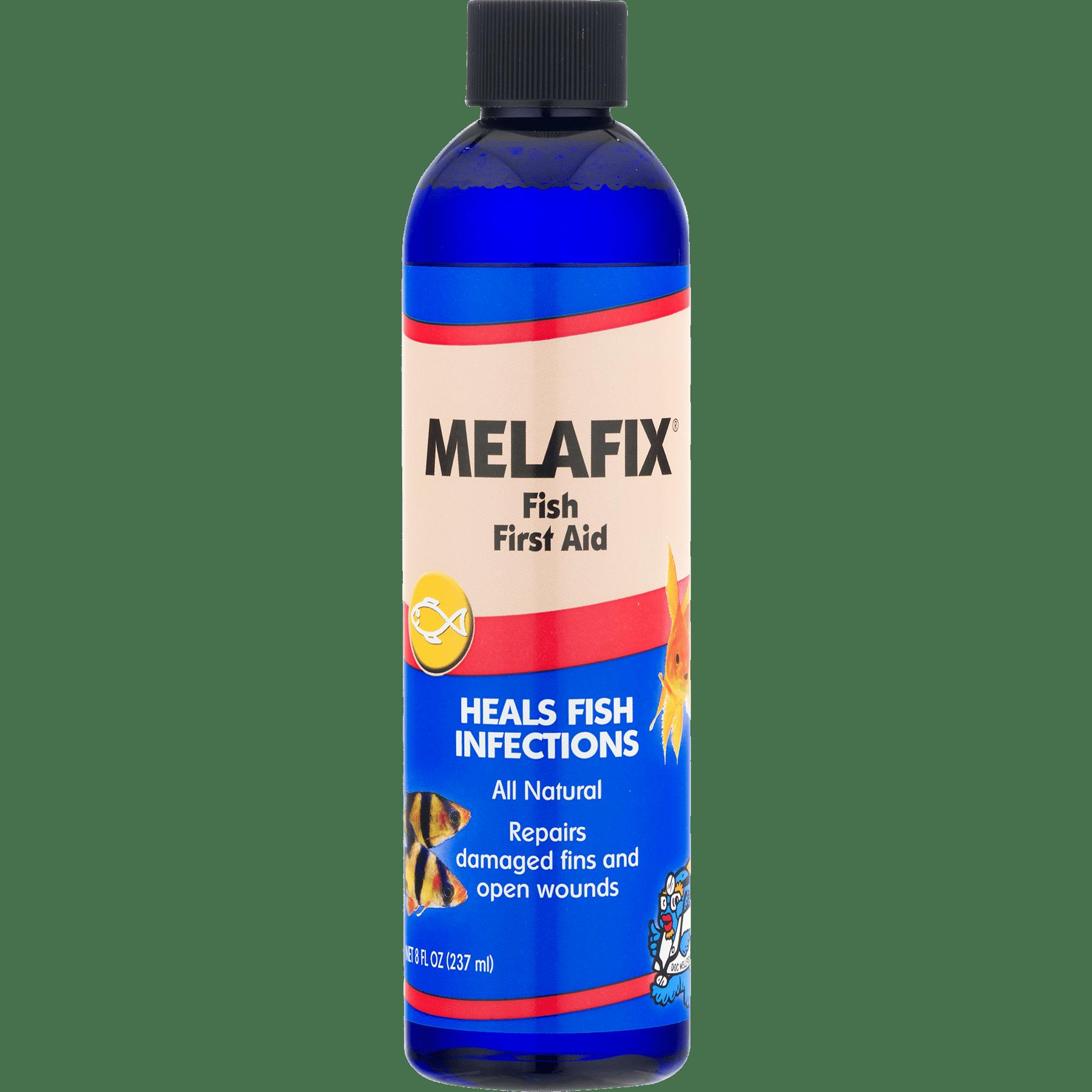 Melafix Fish First Aid 8 0 FL OZ Walmart