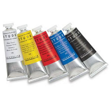 Sennelier Etude Art Student Oil Color - Phthalo Green Deep, 34 ml tube