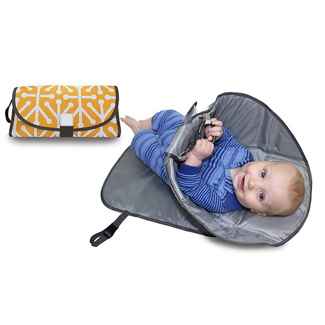 Outgeek Folding Portable Waterproof Travel Outdoor Baby Diaper Clutch Changing Pad Mat Station for Baby Toddler