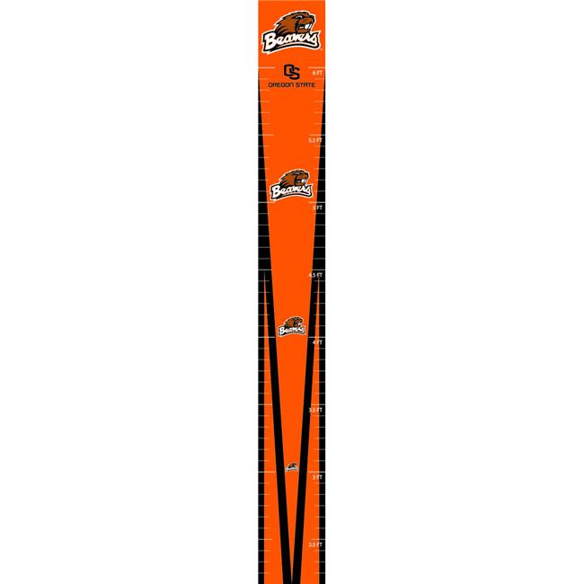 Trademarx RGC ORST Oregon State Beavers Licensed Growth Chart