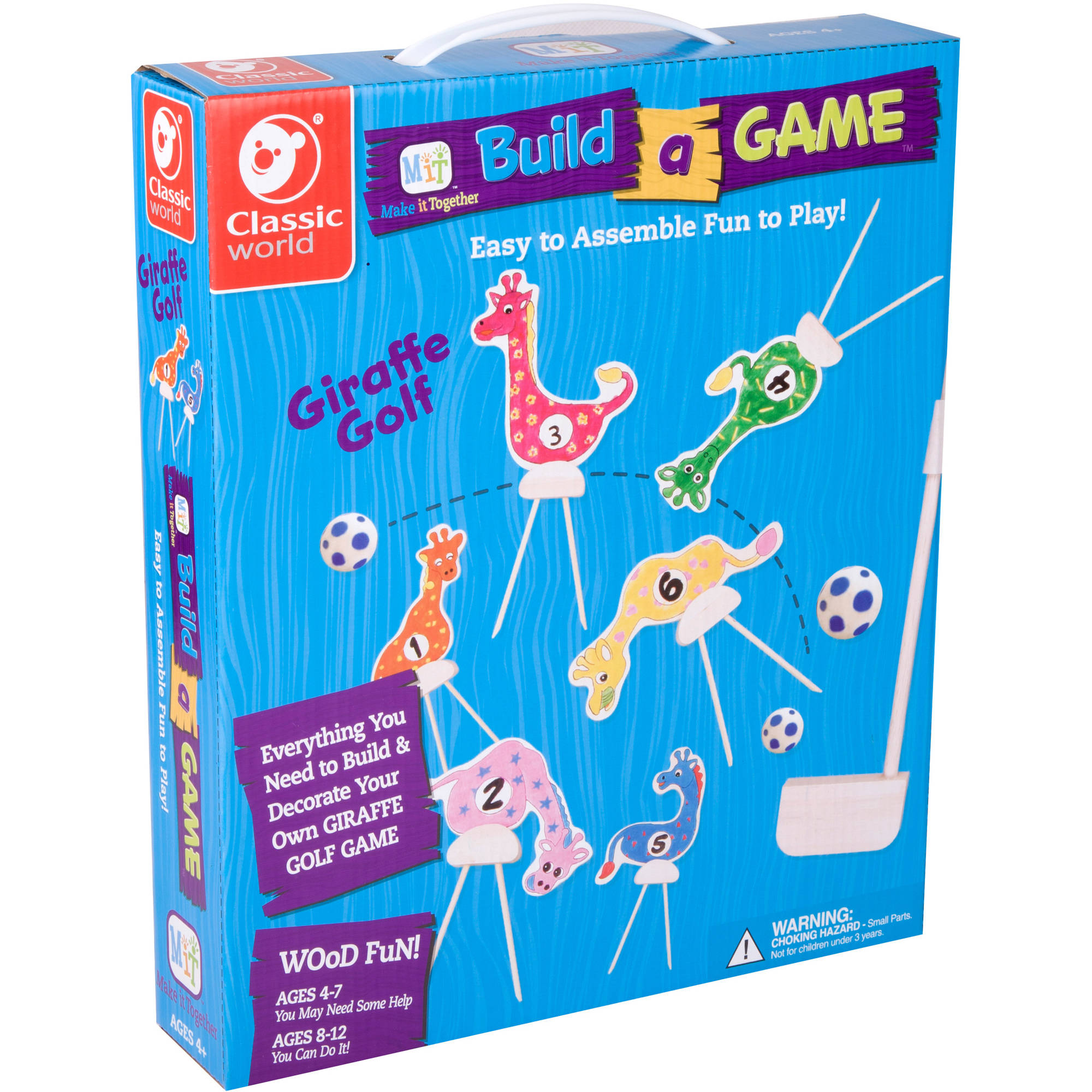 Build a Game, Giraffe Golf