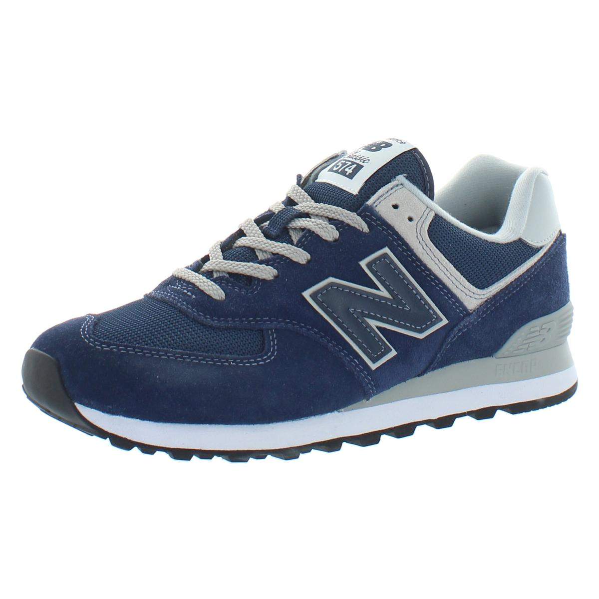 New Balance - New Balance Mens 574 Suede Fitness Walking Shoes ...