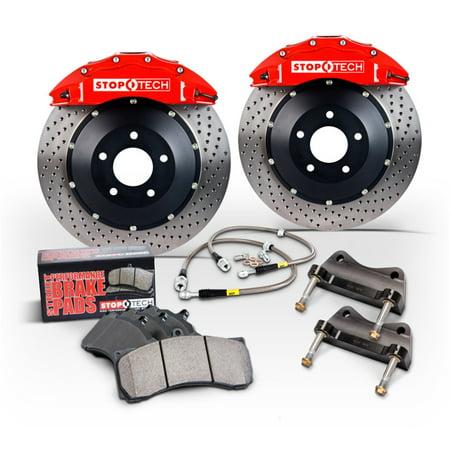 Sport Big Brake (StopTech 00-05 Honda S2000 ST-41 Trophy Sport Calipers 345x28mm Slotted Rotors Rear Big Brake Kit )