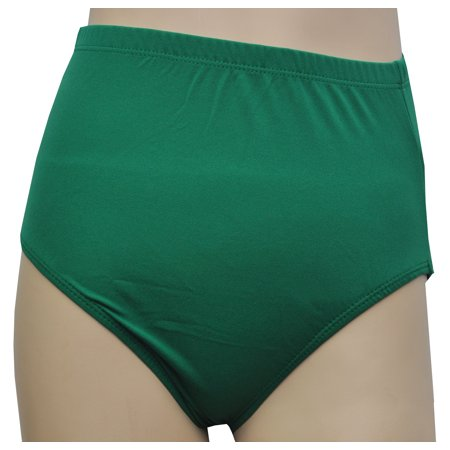 Kelly Green Nylon Performance Trunks Adult Halloween Accessory