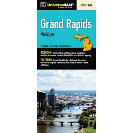 Universal Map Grand Rapids Fold Map