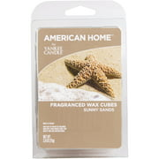 American Home by Yankee Candle Sunny Sands, 2.6 oz Fragranced Wax Cubes