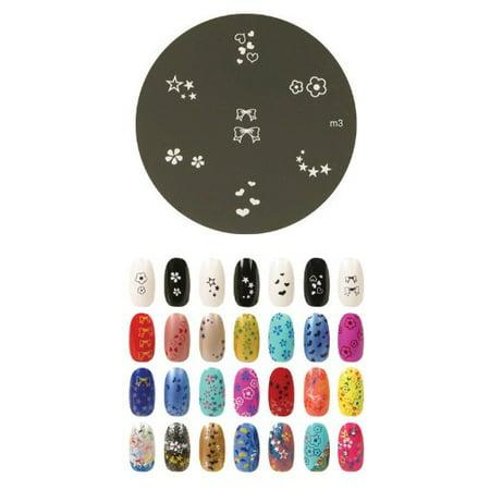 Konad Stamping Nail Art Image Plate - M3 - image 1 of 1