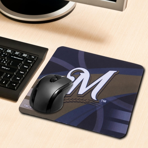 Milwaukee Brewers Sublimated Mousepad - No Size