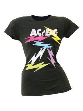 2dec0d08244 Product Image AC DC - Neon Bolts Juniors T-Shirt