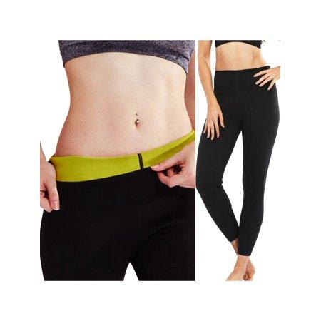 Samba Short - S-XXXL Women Hot Sweat Thermal Slimming Waist Shaper Sauna Short/Long Sleeve Pants Fitness Slimming Workout Women Body Shaper Sports Pants