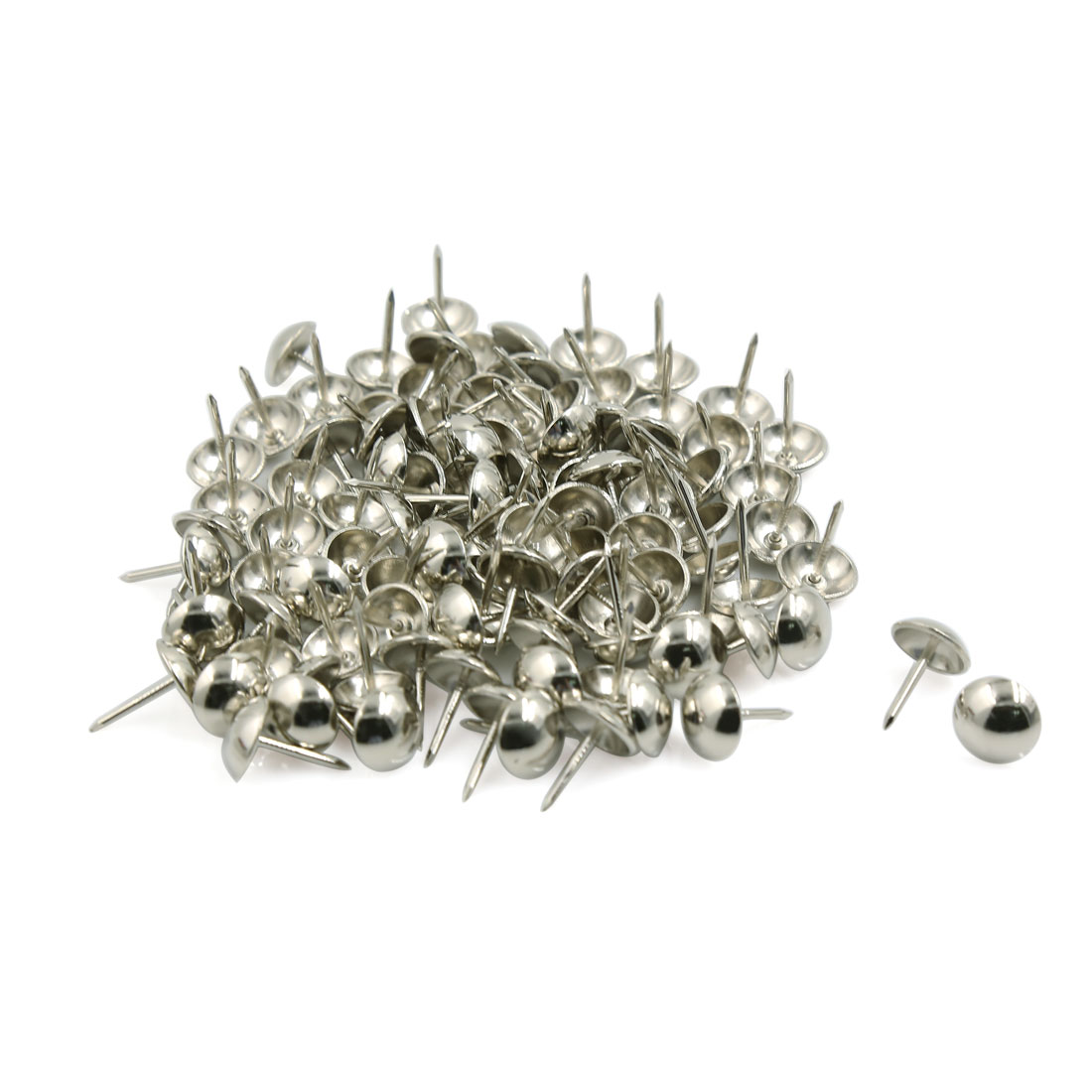 Unique Bargains 100 Pcs Home/Office Board Map Push Pins Thumbtacks w Steel Point