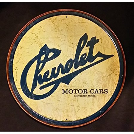 Chevy Historic Logo Tin Sign 12 x 12in - image 1 de 1