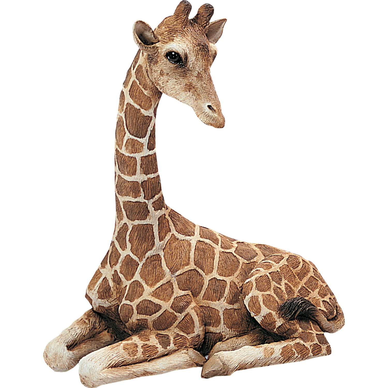 "Sandicast ""Original Size"" Lying Giraffe Sculpture by Sandicast"