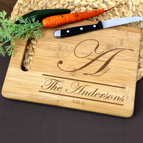 Personalized Cutting Board, Large