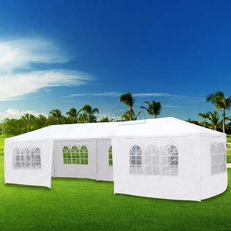 Zimtown 10'x 30' Party Wedding Outdoor Patio Tent w/7 Canopy Heavy duty Gazebo Pavilion