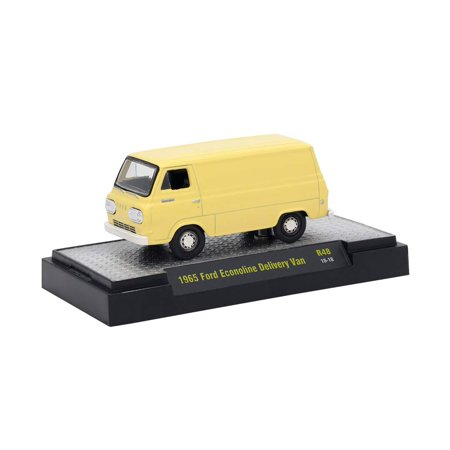 M2 Machines Auto-Trucks R48-1965 Ford Econoline Delivery - Ford Connect Van