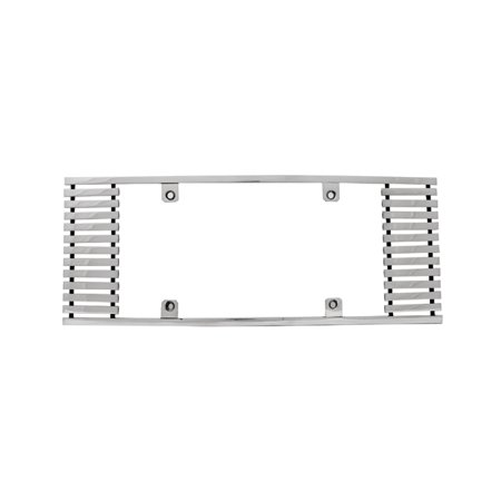 Edge Billet - IPCW CWL-822A 8mm BILLET LICENSE PLATE FRAME STRAIGHT EDGE