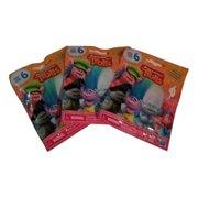 Set of 3: DreamWorks Trolls Surprise Mini Figure Series 6 Blind Bag - Each Package includes 1 Mini Figure