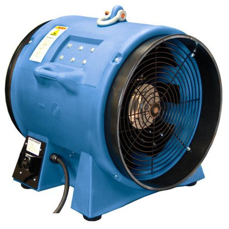 Image of Americ VAF8000A-3 13 Amp 20 in. High Capacity Confined Space Ventilator