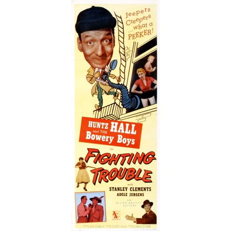 Fighting Trouble POSTER Movie Insert A (14x36)