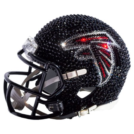 Atlanta Falcons Rocks - Atlanta Falcons Swarovski Crystal Mini Football Helmet - No Size