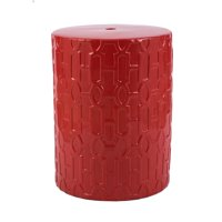 Ceramic Stool - Red
