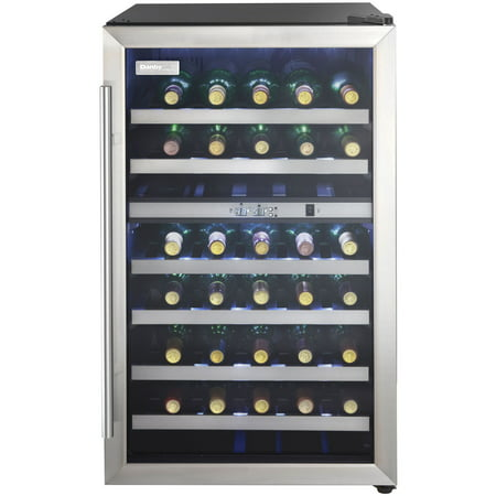 Danby Designer 38-Bottle Free-Standing Dual-Zone Wine Cooler -