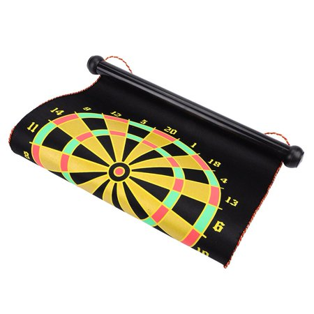 Spptty Double Sided Dartboard,Magnetic Dartboard,15inch Magnetic Double Sided Dart Board Wall Hanging Dartboard with 6 Safety Darts - image 1 of 8