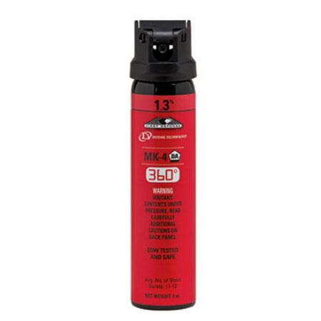Defense Technology 56843 First Defense Mk 4 Stream 360 1 3  Red Pepper Spray