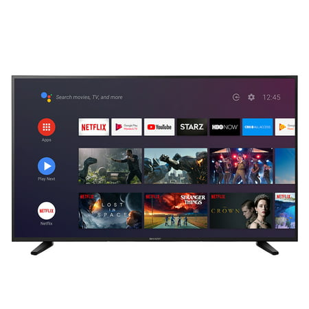 "Sharp 55"" Class 4K Ultra HD (2160P) Android Smart LED TV with Dolby"