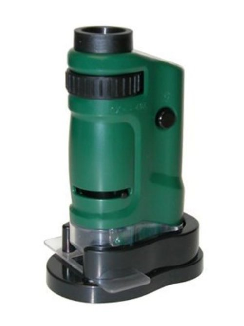 Carson MM-24 Microbrite 20x-40x Zoom Pocket Microscope with Built-In LED by Carson