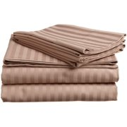 1800 Series Premium Deep Pocket Bed Sheet Set by Elaine Karen Microfiber Bedding -Includes Flat Sheet-Fitted Sheet- Pillowcases, Size: King, Queen, Full, Twin - QUEEN TAUPE